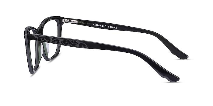 Hedera Black Acetate Eyeglass Frames from EyeBuyDirect