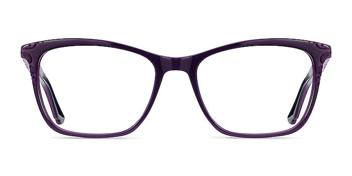 Hedera Violet Acétate Montures de lunettes de vue d'EyeBuyDirect