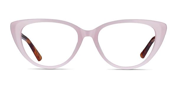 Anastasia Iridescent Pink & Tortoise Acétate Montures de lunettes de vue