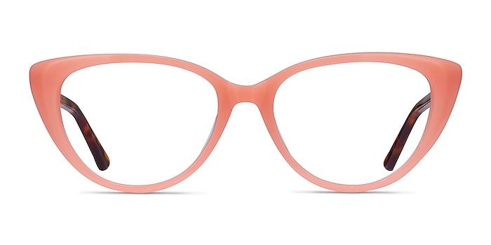 Anastasia Coral & Tortoise Acetate Eyeglass Frames from EyeBuyDirect