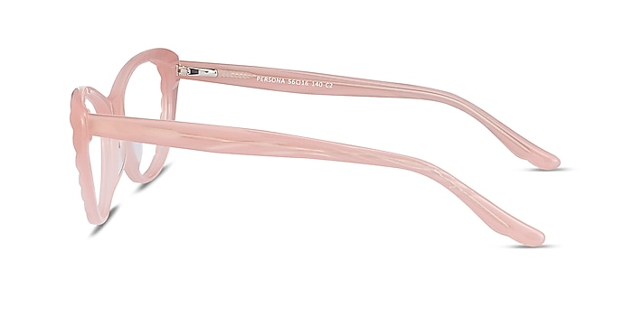 Persona Coral Acetate Eyeglass Frames from EyeBuyDirect