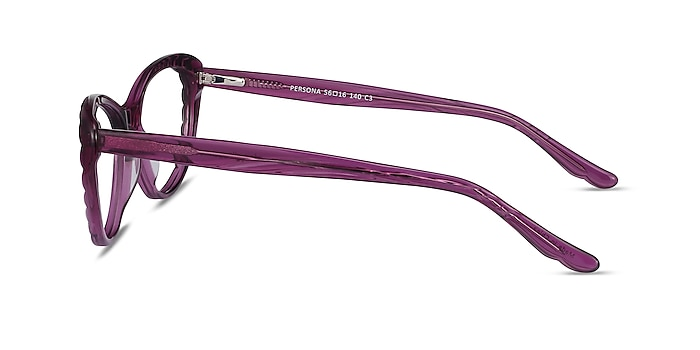 Persona Cassis Acetate Eyeglass Frames from EyeBuyDirect
