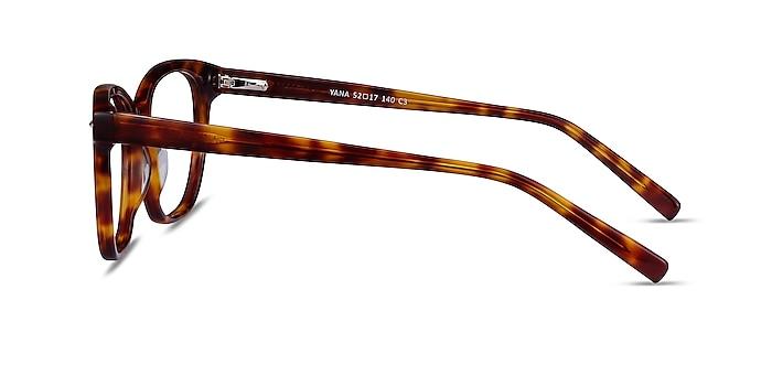 Yana Tortoise Acetate Eyeglass Frames from EyeBuyDirect