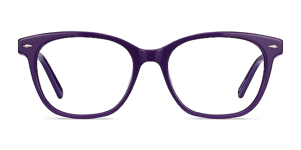 Yana Purple Acetate Eyeglass Frames