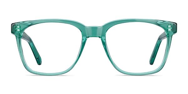 Jamie Emerald Green Acetate Eyeglass Frames