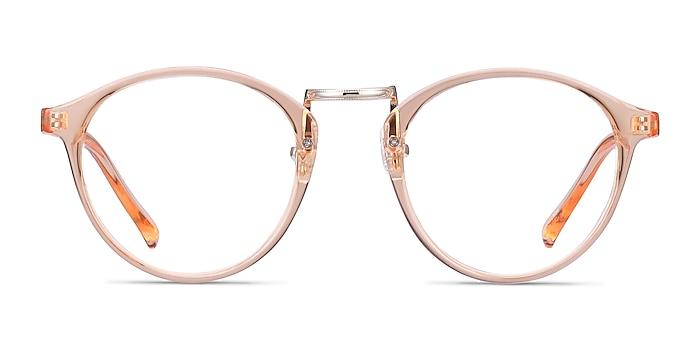 Chillax Clear Melon Plastic Eyeglass Frames from EyeBuyDirect
