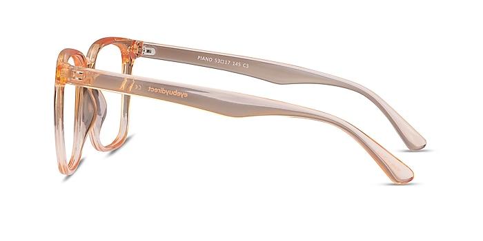 Piano Melon Plastic Eyeglass Frames from EyeBuyDirect