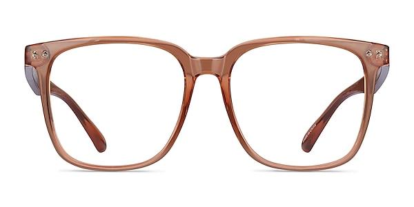 Piano Marron Plastique Montures de lunettes de vue