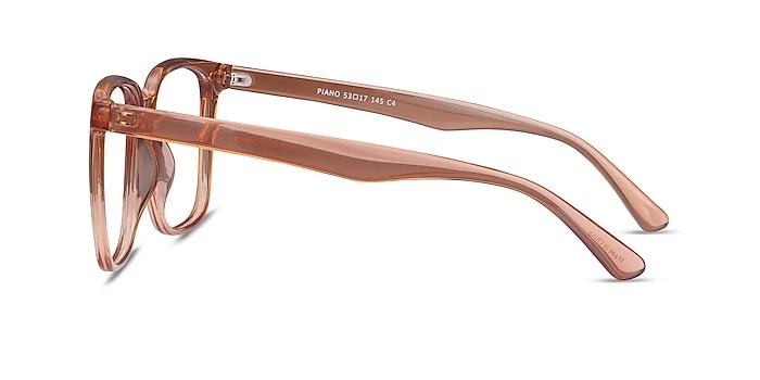 Piano Brown Plastic Eyeglass Frames from EyeBuyDirect