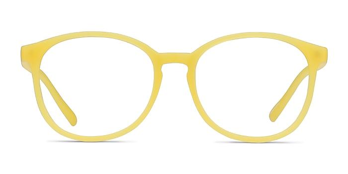 Dutchess Yellow Plastic Eyeglass Frames from EyeBuyDirect