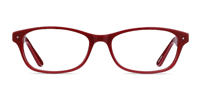 Kedah Burgundy Acétate Montures de lunettes de vue d'EyeBuyDirect