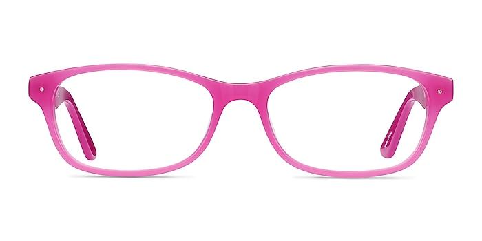 Kedah Pink Acetate Eyeglass Frames from EyeBuyDirect