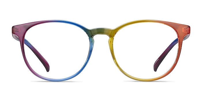 Rainbow Rainbow Plastique Montures de lunettes de vue d'EyeBuyDirect