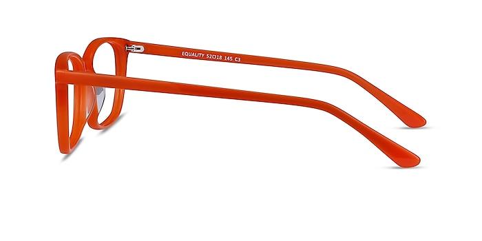 Equality Orange Acetate Eyeglass Frames from EyeBuyDirect