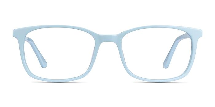 Equality Blue Acetate Eyeglass Frames from EyeBuyDirect
