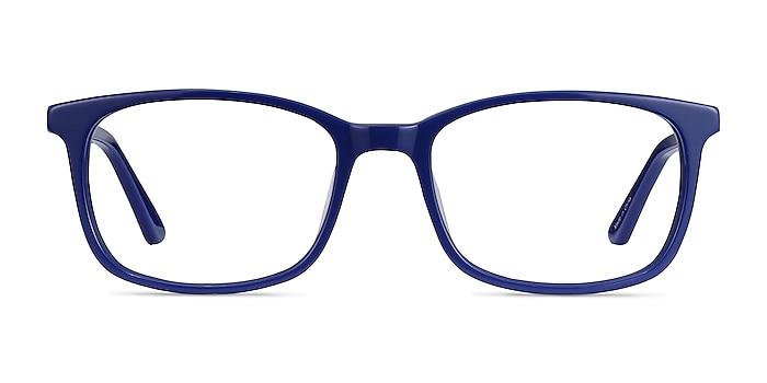 Equality Navy Acetate Eyeglass Frames from EyeBuyDirect