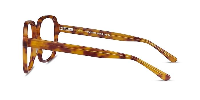 Tompkins Light Tortoise Acetate Eyeglass Frames from EyeBuyDirect