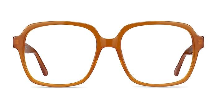 Tompkins Mellow Yellow Acetate Eyeglass Frames from EyeBuyDirect