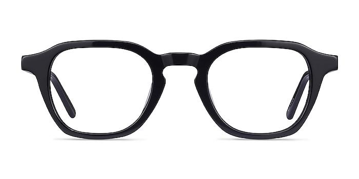 Victor Noir Acétate Montures de lunettes de vue d'EyeBuyDirect