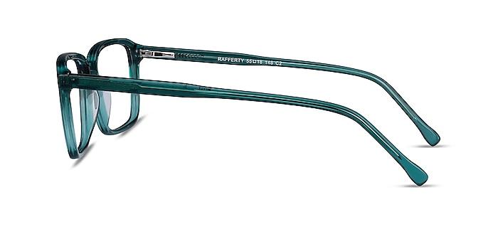 Rafferty Teal Acetate Eyeglass Frames from EyeBuyDirect
