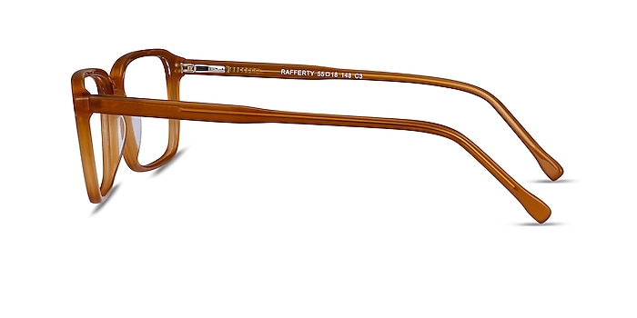 Rafferty Mellow Yellow Acetate Eyeglass Frames from EyeBuyDirect