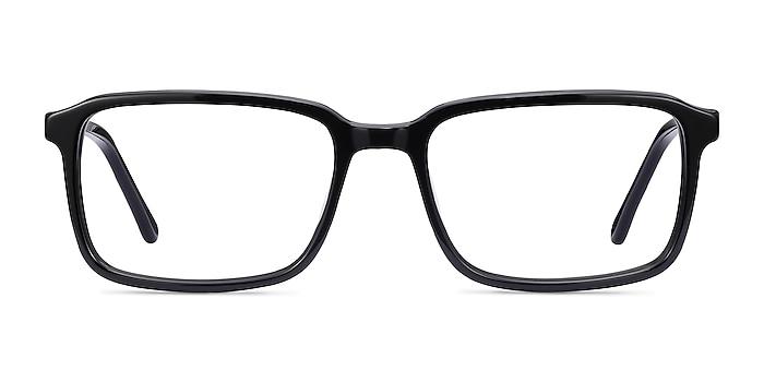 Rafferty Black Acetate Eyeglass Frames from EyeBuyDirect