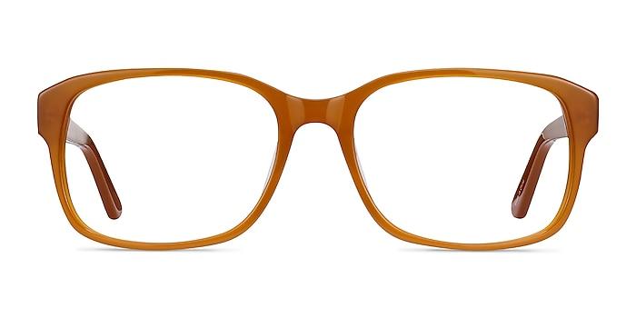 Tobias Mellow Yellow Acétate Montures de lunettes de vue d'EyeBuyDirect