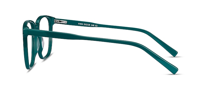 Finn Teal Acetate Eyeglass Frames from EyeBuyDirect