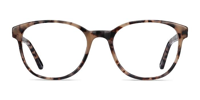 Gable Ivory Tortoise Acetate Eyeglass Frames from EyeBuyDirect
