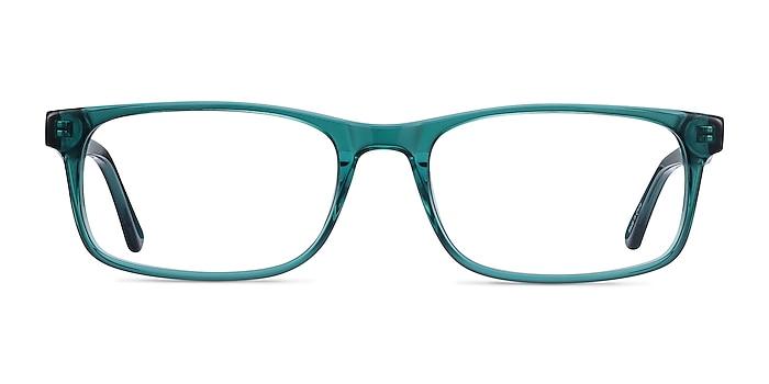 Vista Teal Acetate Eyeglass Frames from EyeBuyDirect