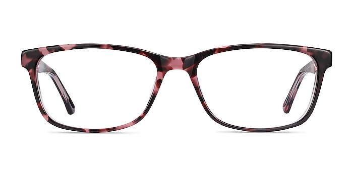 Marion Pink Tortoise Acetate Eyeglass Frames from EyeBuyDirect