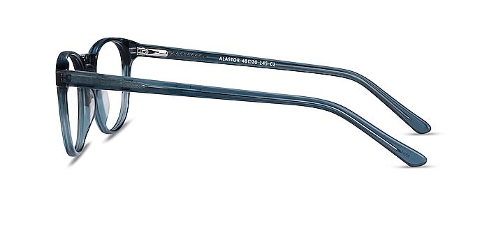 Alastor Blue Acetate Eyeglass Frames from EyeBuyDirect