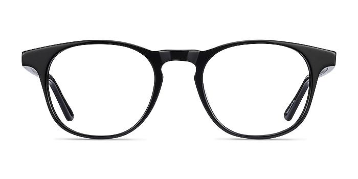 Alastor Black Acetate Eyeglass Frames from EyeBuyDirect