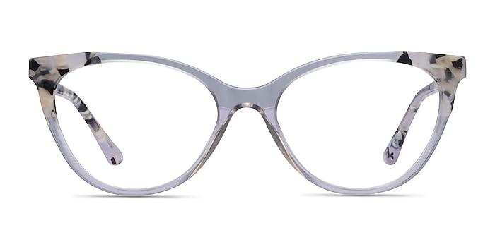 Dorset Clear Tortoise Acetate Eyeglass Frames from EyeBuyDirect