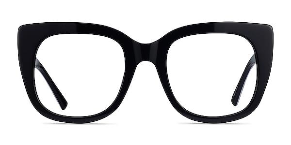 Unique Black & Panther Acetate Eyeglass Frames