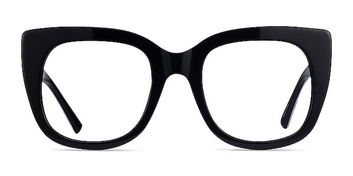 Unique Black & Panther Acetate Eyeglass Frames from EyeBuyDirect