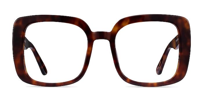 Heather Tortoise Acetate Eyeglass Frames from EyeBuyDirect