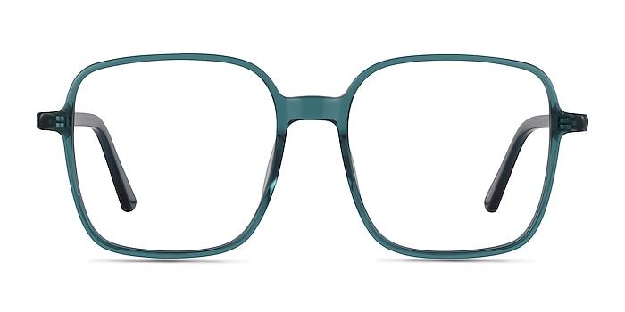 Sixto Teal Acetate Eyeglass Frames from EyeBuyDirect
