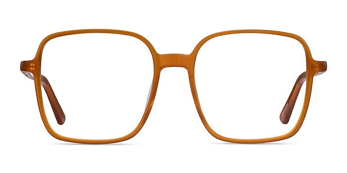 Sixto Mellow Yellow Acétate Montures de lunettes de vue d'EyeBuyDirect