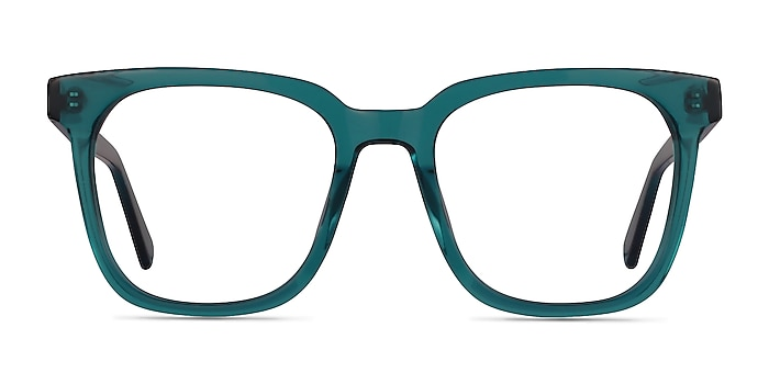 Kenneth Teal Acetate Eyeglass Frames from EyeBuyDirect