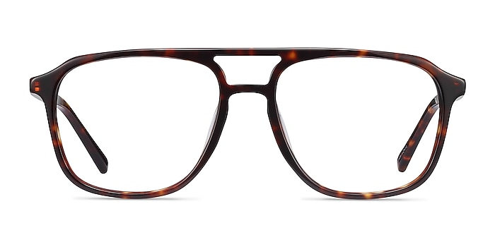Effect Tortoise Acetate Eyeglass Frames from EyeBuyDirect