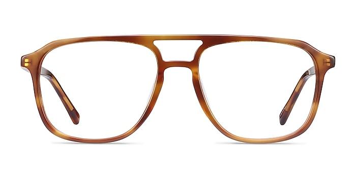 Effect Light Tortoise Acetate Eyeglass Frames from EyeBuyDirect