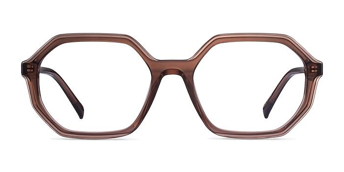 Dream Coffee Acetate Eyeglass Frames from EyeBuyDirect