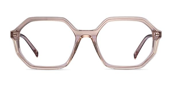 Dream Clear Brown Acétate Montures de lunettes de vue