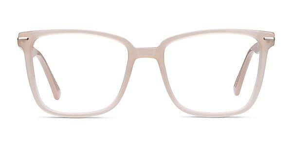 Canvas Beige Acetate Eyeglass Frames