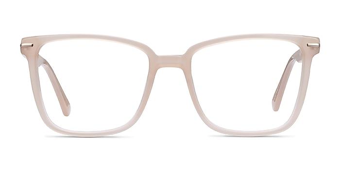 Canvas Beige Acétate Montures de lunettes de vue d'EyeBuyDirect