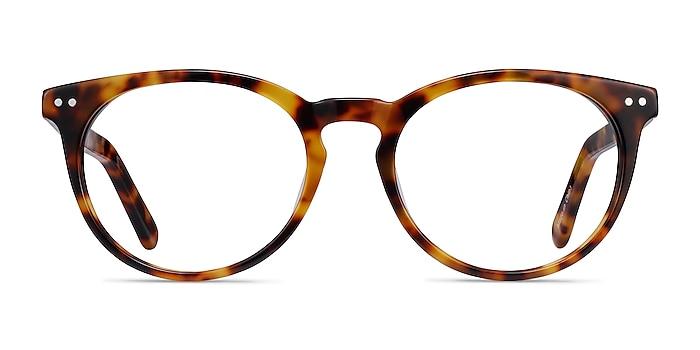 Morning Warm Tortoise Acetate Eyeglass Frames from EyeBuyDirect