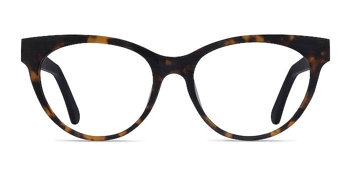 Paula Tortoise Acetate Eyeglass Frames from EyeBuyDirect