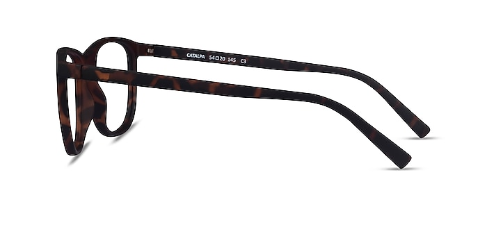 Catalpa Light Tortoise Plastic Eyeglass Frames from EyeBuyDirect