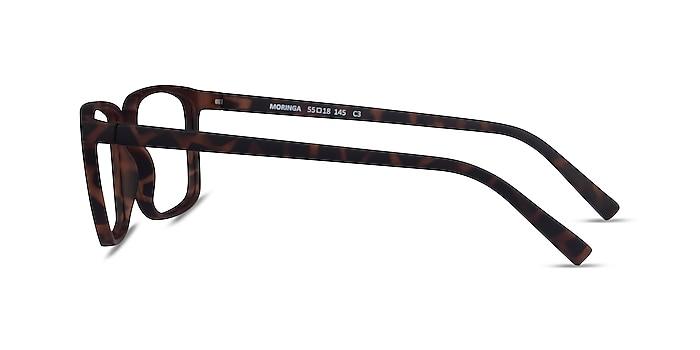 Moringa Warm Tortoise Plastic Eyeglass Frames from EyeBuyDirect
